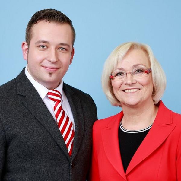 Sebastian Watermeier und Heike Gebhard