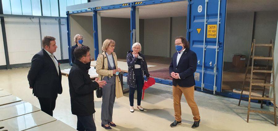 Besuch des Technologiezentrums